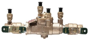 Watts 3/4 in. Lead Free Bronze IPS Reduced Pressure Zone Backflow Preventer with Ball Valve Tee Handle WLF009M3QTF