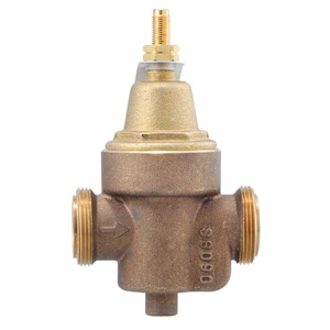 Watts Brass Threaded x CPVC Water Pressure Reducing Valve WLFN55BM1