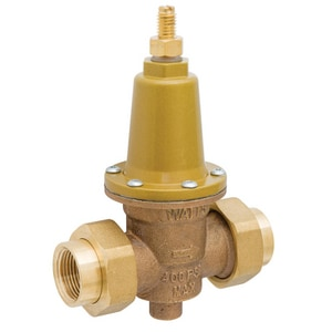 Watts 400 psi Female Threaded Copper Alloy Water Pressure Regulator Valve WLFX65BDU