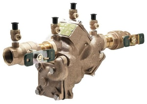 Watts Series LF909 Cast Copper Silicon Alloy FNPT 175 psi Backflow Preventer WLF909QT