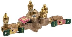 Watts 1/2 in. Bronze IPS Reduced Pressure Zone Backflow Preventer with Tee-Handle WLF009QTD