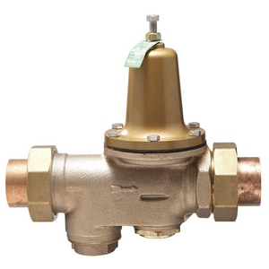 Watts Series LF25AUB-Z3 300 psi 160# Copper Silicon Alloy Solder Union Threaded Water Pressure Reducing Valve WLF25AUBSDUZ3