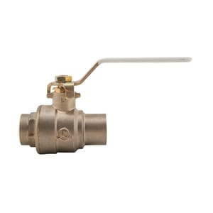 Watts 600 psi 2-Piece Sweat Copper Silicon Alloy Full Port Ball Valve WLFFBVS3C
