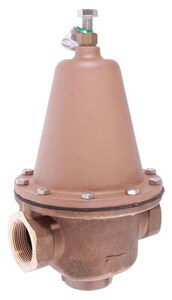 Watts Series LF223 300 psi 160# Female Threaded Copper Water Pressure Reducing Valve WLF223B