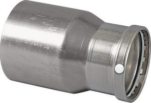 Viega ProPress® FTG x Press 304 Stainless Steel Reducing Coupling V8523