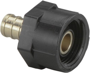 Viega North America Brass Crimp Closet Adapter Elbow V4623