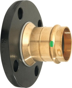 Viega ProPress® Flanged x Press Bronze Adapter V7968
