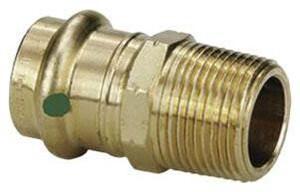 Viega North America ProPress® Press x MNPT Bronze Reducing Adapter V792