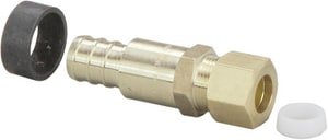 Viega 3/8 x 1/2 in. PEX Brass Crimp Lavatory Adapter V46331
