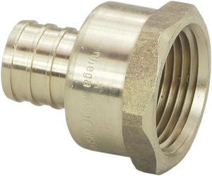 Viega North America ViegaPEX™ Brass PEX Crimp Female National Pipe Thread Adapter V4633