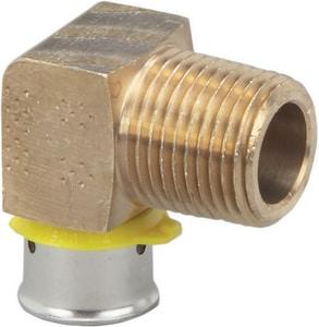 Viega North America Bronze PEX Pressure x MNPT Elbow V92520