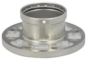 Viega North America ProPress® XL Press x Flanged Extra Large Stainless Steel Adapter V860