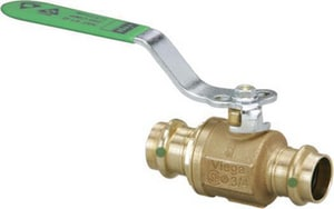 Viega North America Press Bronze Full Port Isolation Ball Valve V7984