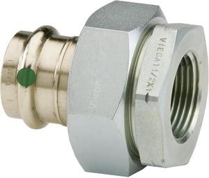 Viega North America ProPress® Press x FPT Dielectric Bronze Union V7915