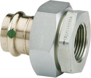 Viega ProPress® Press x FPT Dielectric Bronze Union V7915