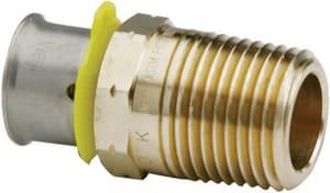 Viega ViegaPEX™ 1 x 1 in. Bronze PEX Pressure MNPT Straight Adapter V90561