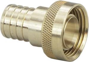 Viega ViegaPEX™ 1 x 1 in. Brass PEX Crimp Supply Adapter V46416