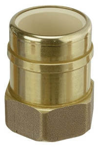 Sioux Chief 1 in. FIP x CPVC Socket Copper Adapter S647CG4