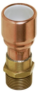 Sioux Chief MIP x PVC Socket Fitting Copper Adapter S646P