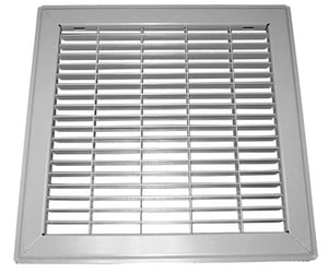 Proselect 36 in. Floor Return Air Grille in Brown PSFRGB36