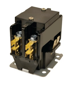 Motors & Armatures Jard® 40A 24V 2-Phase Contactor with Lugs MAR17425