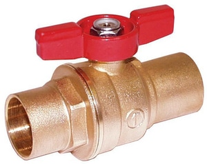 Legend Valve & Fitting 150 psi Brass Sweat T-Handle Ball Valve L101634NL