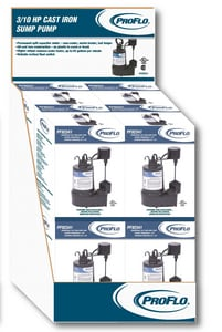 PROFLO® 1/3 hp  Cast Iron Submersible Sump Pump 8-Pack PF923418P