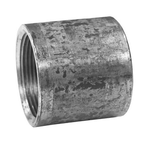 Jones Stephens Merchant Galvanized Malleable Coupling JM1