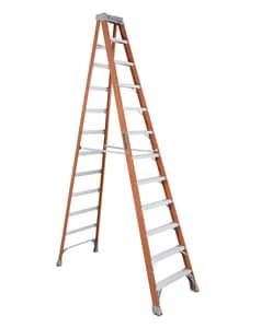 Louisville Ladder 31-9/16 in. 300 lbs. Fiberglass Step Ladder LFS1512