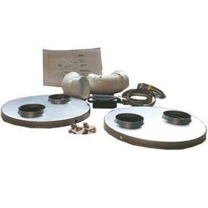 Nordyne PVC Horizontal Exterior Vent Mounting Kit N904106