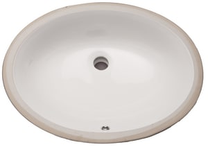 PROFLO® 22 x 17 in. OD Undercounter Lavatory Sink in Biscuit PF1915UBS