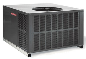 Goodman GPG Series 13 SEER R-410A Single-Stage Aluminum Fin Multi-Position Natural Gas/Electric Packaged Unit GGPG13090M41
