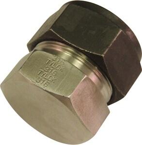 Tylok OD 316L Stainless Steel Cap TSS8SCAP