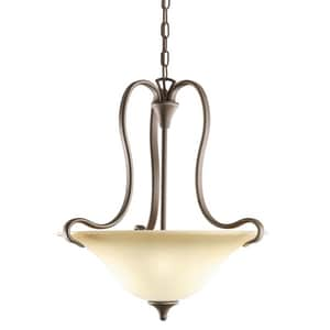 Kichler Lighting Serenity 150W 2-Light Inverted Pendant KK3585