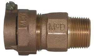 A.Y. McDonald PVC x MIP Brass Straight Coupling M475344