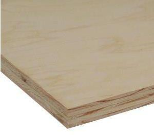 Home Depot 4  ft. x 4 ft. x 3/4 in. CDX Plywood Sheet 4X4X34CDX