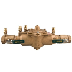 Watts Series LF009 3 in. Epoxy Coated Cast Iron NPT 175 psi Backflow Preventer WLF009DNRSM at Pollardwater