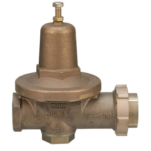 Wilkins Regulator Model 500XL 300 psi FNPT Cast Bronze Pressure Reducing Valve W500XLHLR