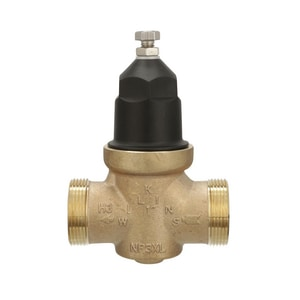 Wilkins Regulator Water Pressure Reducing Valve with Integral Bypass Check Valve and Strainer WNR3XLDULU