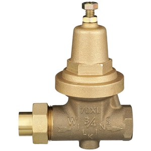 Wilkins Regulator 300 psi FNPT x Sweat Union Rubber Pressure Reducing Valve W70XLC