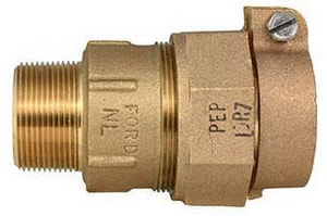 Ford Meter Box MIP Swivel x Pack Joint Brass Straight Coupling FC86IDR7NL