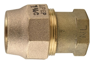 Ford Meter Box FIP x Grip Joint Brass Coupling FC16GNL