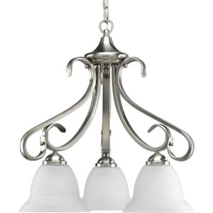 Progress Lighting Torino 97 in. 100 W 3-Light Medium Chandelier PP4405