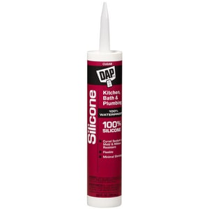 DAP 10.1 oz. Silicone Caulk in Clear D08648