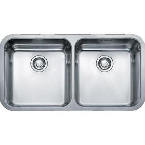Franke Consumer Products Largo 18 ga 2-Bowl Undercounter Kitchen Sink FLAX12031