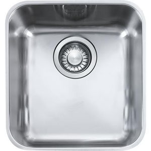Franke Consumer Products Largo Single Bowl Bar Sinks in Stainless Steel FLAX11015