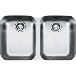 Franke Consumer Products Artisan 2-Bowl Kitchen Sink FARX12031