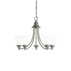 Seagull Lighting Albany 100 W 5-Light Medium Chandelier S31576