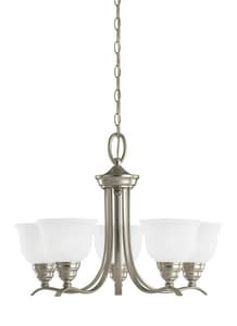 Seagull Lighting Wheaton 100 W 5-Light Medium Chandelier S31626