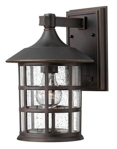 Hinkley Lighting Freeport 8 in. 100W 1-Light Medium E-26 Wall Lantern H1804